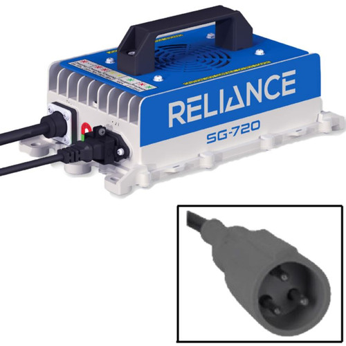 Reliance SG-720 Charger, Club Car 48v Powerdrive