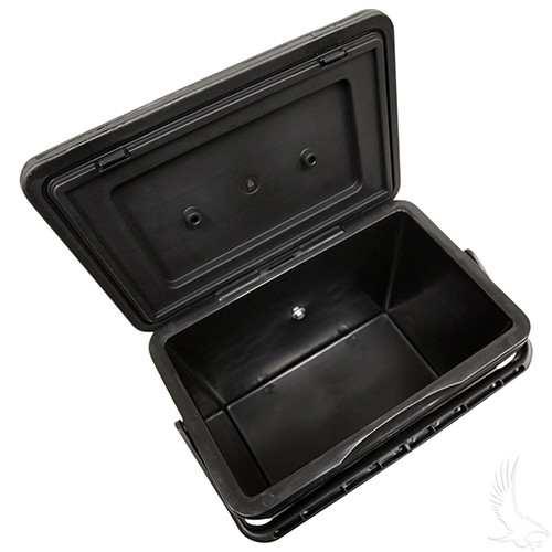 Insulated Large Capacity Cooler, Economy, Black 11.75 QT.