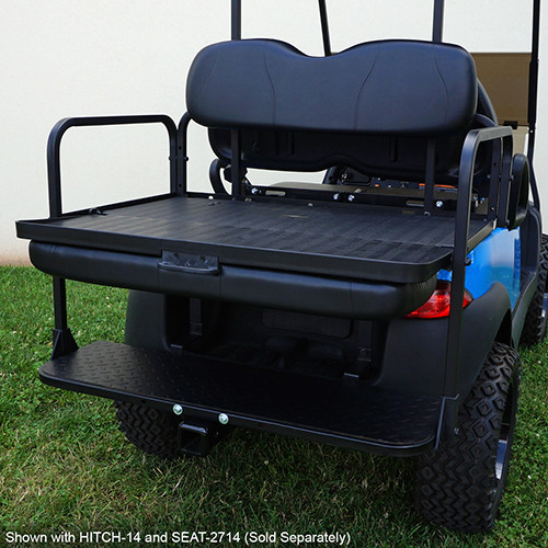 RHOX Rhino Seat Kit, Black, Club Car Tempo, Precedent 04+
