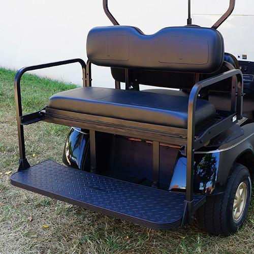 RHOX Rhino Aluminum Seat Kit, Black E-Z-Go TXT 96+