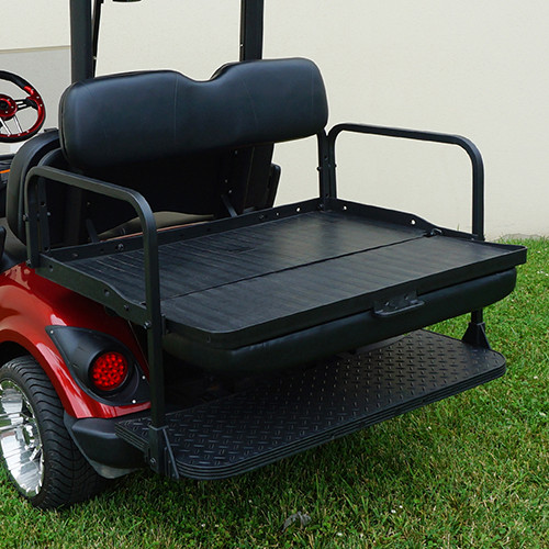 RHOX Rhino Aluminum Seat Kit, Black, Yamaha Drive