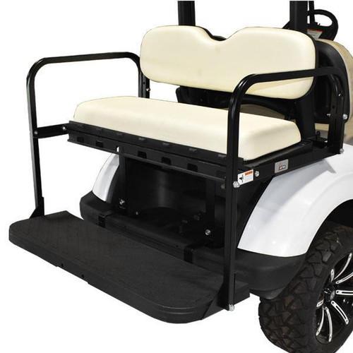 GTW MACH3 Rear Flip Seat For E-Z-Go Txt - White 1994.5-Up