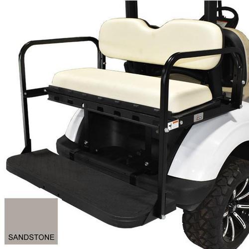 GTW MACH3 Rear Flip Seat For E-Z-Go Rxv - SanDStone