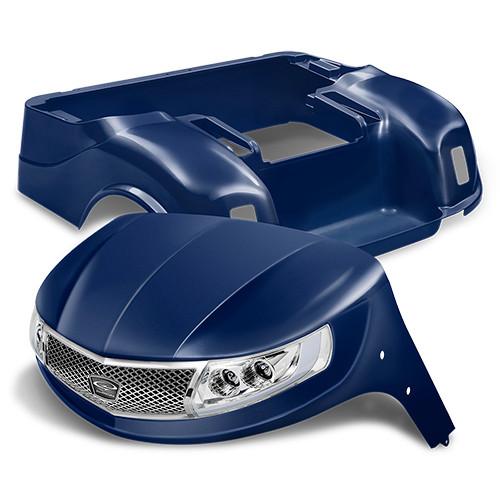 Doubletake Phoenix Body Kit for EZ-GO TXT 96+ in Navy w/ Deluxe LED Light Kit
