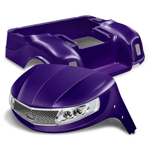 Doubletake Phoenix Body Kit for EZ-GO TXT 96+ in Purple w/ Deluxe LED Light Kit