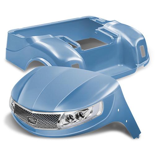 Doubletake Phoenix Body Kit for EZ-GO TXT 96+ in Sky Blue w/ Deluxe LED Light Kit