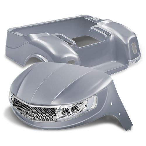 Doubletake Phoenix Body Kit for EZ-GO TXT 96+ in Silver w/ Deluxe LED Light Kit