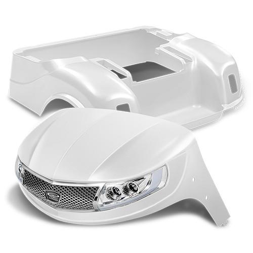 Doubletake Phoenix Body Kit for EZ-GO TXT 96+ in Snow White w/ Deluxe LED Light Kit