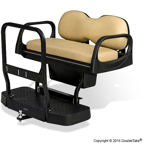 Doubletake MAX 5 Deluxe Golf Cart Rear Seat FRAME ONLY NO CUSHION SET