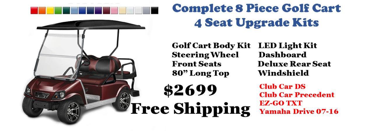 Yamaha Golf Cart Performance Exhaust  Golf Cart  Golf Cart