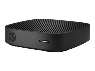 7HE49UT#ABA -- HP t430 - Thin client - DTS - 1 x Celeron N4000 / 1.1 GHz - RAM 4 GB - flash - eMMC 32 GB