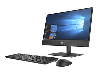 7YB14UT#ABA -- HP ProOne 600 G5 - All-in-one - Core i3 9100 / 3.6 GHz - RAM 4 GB - HDD 500 GB - DVD-Writer - UHD Gr