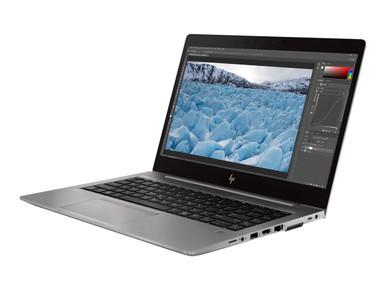 7ZC52UT#ABA -- HP ZBook 14u G6 Mobile Workstation - Core i5 8365U / 1.6 GHz - Win 10 Pro 64-bit - 8 GB RA
