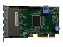 7ZT7A00545 -- Lenovo ThinkSystem - Network adapter - LAN-on-motherboard (LOM) - Gigabit Ethernet x 4 - f -- New