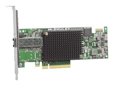 81Y1655 -- Emulex 16Gb FC Single-port HBA for IBM System x - Host bus adapter - PCIe 2.0 x8 - 16Gb Fi -- New