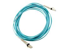 AJ835A -- HPE - Network cable - LC multi-mode (M) to LC multi-mode (M) - 2 m - fiber optic - 50 / 125 micron -