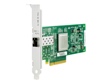 AK344A -- HPE StorageWorks 81Q - Host bus adapter - PCIe 2.0 x4 / PCIe x8 low profile - 8Gb Fibre Ch -- New