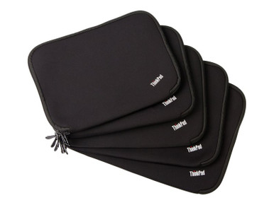 """4X40E48909 -- Lenovo ThinkPad Fitted Reversible Sleeve - Notebook sleeve - 12"""" - black, red - for IdeaPad Miix 700"""