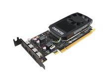 4X60N86660 -- NVIDIA Quadro P1000 - Graphics card - Quadro P1000 - 4 GB GDDR5 low profile - 4 x Mini Dis