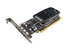 4X60N86661 -- NVIDIA Quadro P1000 - Graphics card - Quadro P1000 - 4 GB GDDR5 - PCIe 3.0 x16 - 4 x Mini