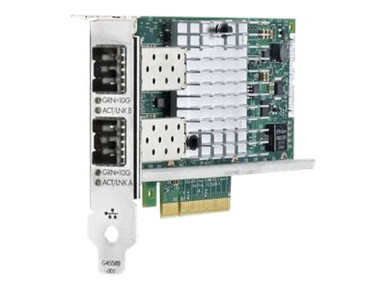665249-B21 -- HPE 560SFP+ - Network adapter - PCIe 2.0 x8 - 10Gb Ethernet x 2 - for Apollo 4200 Gen9, Pr -- New