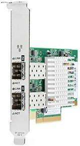 727055-B21 -- HPE 562SFP+ - Network adapter - PCIe 3.0 x8 - 10 Gigabit SFP+ x 2 - for Apollo 4200 Gen10, -- New