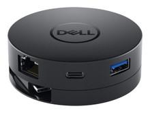 DELL-DA300 -- Dell Mobile Adapter DA300 - Docking station - USB-C - VGA - GigE - for Inspiron 5502, Lati -- New