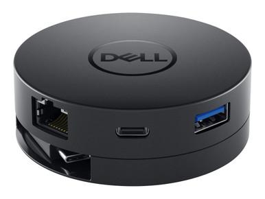 DELL-DA300 -- Dell Mobile Adapter DA300 - Docking station - USB-C - VGA - GigE - for Latitude 3120, 53XX