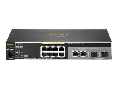 J9774ACM -- HPE Aruba 2530-8G-PoE+ - Central Managed - switch - managed - 8 x 10/100/1000 (PoE+) + 2 x -- New