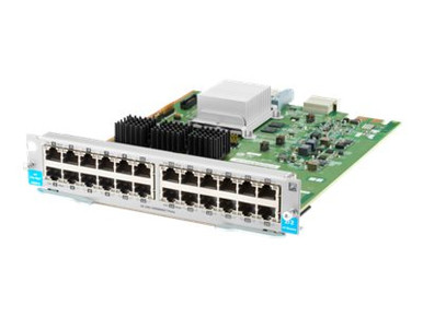 J9987AR -- HPE - Expansion module - Gigabit Ethernet x 24 - remarketed - for HPE Aruba 5406R, 5406R 1 -- New