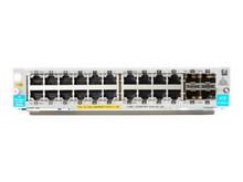 J9990A -- HPE - Expansion module - Gigabit Ethernet (PoE+) x 20 + Gigabit Ethernet / 10 Gigabit SFP+