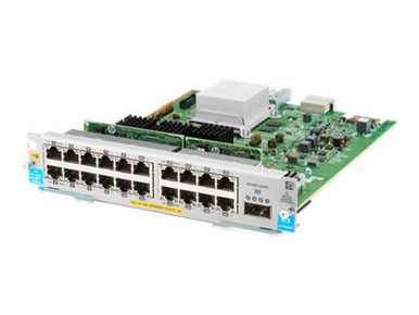J9992A -- HPE - Expansion module - Gigabit Ethernet (PoE+) x 20 + 40 Gigabit QSFP+ x 1 - for HPE Aru -- New
