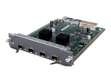 JC091A -- HPE - Expansion module - 10 GigE - 10GBase-X - 4 ports - for HP A5800-24, A5800-48; HPE 5800-48, 582