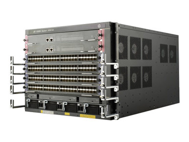 JC613A -- HPE FlexNetwork 10504 Switch Chassis - Switch - rack-mountable -- New