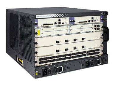 JG362B -- HPE HSR6804 - Modular expansion base - rack-mountable -- New