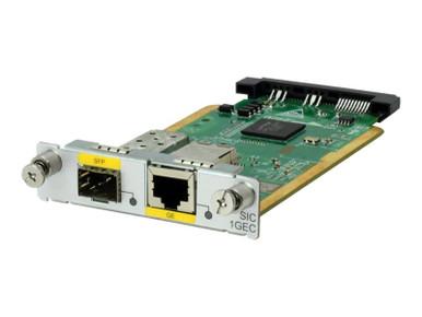 JG738A -- HPE - Expansion module - Smart Interface Card (SIC) - combo Gigabit SFP x 1 -- New