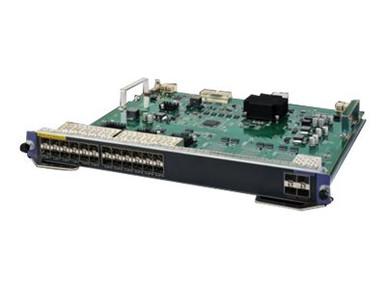 JH211A -- HPE SE Module - Expansion module - Gigabit SFP x 24 + 10 Gigabit SFP+ x 4 - for HPE 7502,