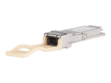 JH233A -- HPE X142 - QSFP+ transceiver module - 40 Gigabit LAN - 40GBase-ESR4 - MPO - up to 984 ft - -- New