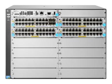 JL001A -- HPE Aruba 5412R 92GT PoE+ / 4SFP+ (No PSU) v3 zl2 - Switch - managed - 92 x 10/100/1000 (P -- New