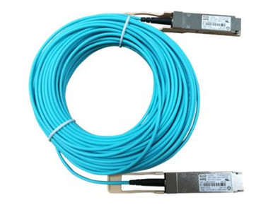 JL278A -- HPE Active Optical Cable - Network cable - QSFP28 to QSFP28 - 20 m - fiber optic - active  -- New