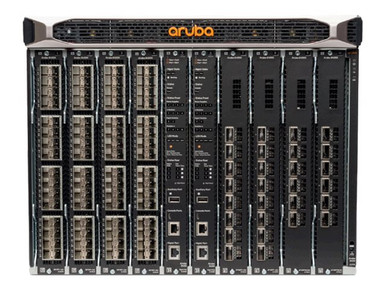 JL375A -- HPE Aruba 8400 8-slot Chassis - Switch - rack-mountable - with 3 x Fan Trays, 18 x Fans, C -- New
