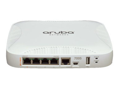 JW634A -- HPE Aruba 7005 (US) Controller - Network management device - GigE - DC power
