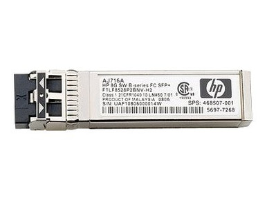 K2Q88A -- HPE B-Series - QSFP transceiver module - 16Gb Fibre Channel - Fibre Channel - 4 ports - MT -- New