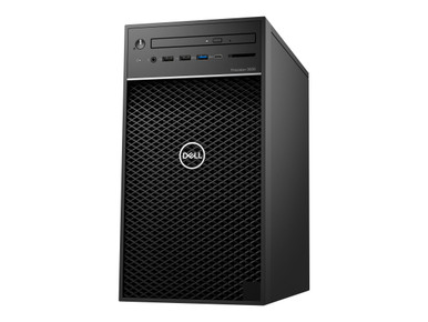 KRCKY -- Dell Precision 3630 Tower - MT - 1 x Core i5 9500 / 3 GHz - vPro - RAM 8 GB - HDD 1 TB - D