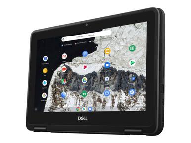 NRCK2 -- Dell Chromebook 3100 2-in-1 - Flip design - Celeron N4000 / 1.1 GHz - Chrome OS - 4 GB RAM - 32 GB e