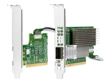 P06154-B22 -- HPE InfiniBand HDR Auxiliary Card - Control processor - PCIe 3.0 x16 - for Apollo 4200 Gen -- New