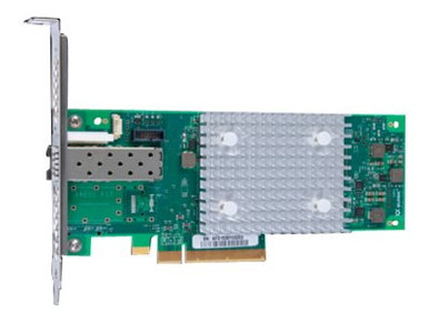 P9M75A -- HPE StoreFabric SN1600Q 32Gb Single Port - Host bus adapter - PCIe 3.0 x8 low profile - 32 -- New