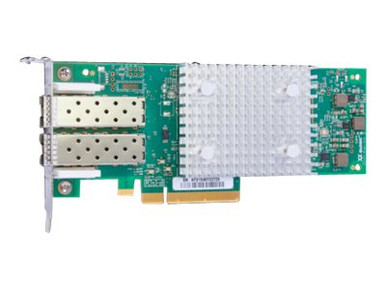P9M76A -- HPE StoreFabric SN1600Q 32Gb Dual Port - Host bus adapter - PCIe 3.0 x8 low profile - 32Gb -- New