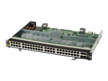 R0X41A               -- HPE Aruba Line Module - Expansion module - 5GBase-T x 48 + 50 Gigabit SFP56 x 4 - for HPE  -- New