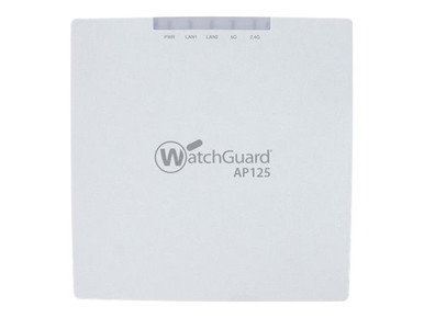 WGA15733 -- WatchGuard AP125 - Wireless access point - with 3 years Secure Wi-Fi - GigE, 802.11ac Wave -- New